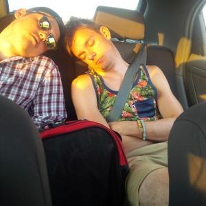 Ryan's on the left.